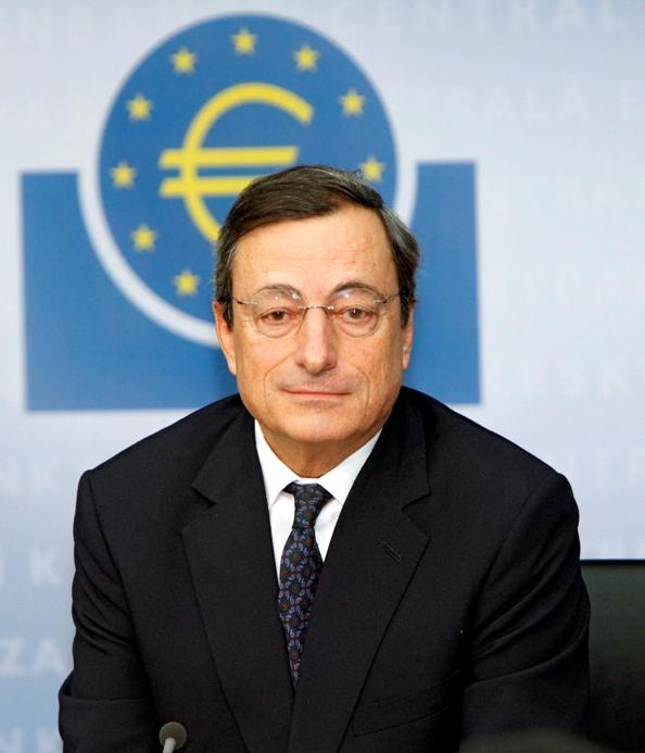 """""""ECB JEST GOTOWY DO DZIAŁANIA"""" – MÓWI M. DRAGHI W PARYŻU"""