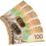 Dolar kanadyjski odrabia straty
