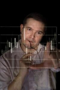 technika wykres trader