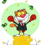 tygrys kreskówka