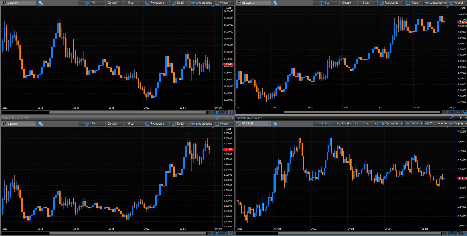 Funkcjonowanie rynku walutowego forex
