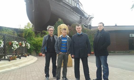 Od lewej: Piotr Tomaszewski, Przemysław Tustanowski, Karol Marchewka, Marcin Nowogórski