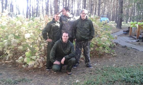 Od lewej: Przemysław Tustanowski, Vitalii Ivliev (Project Manager), Piotr Tomaszewski, Marcin Nowogórski