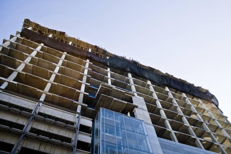 Budowa budynku wielopoziomowego