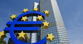 European Central Bank slider