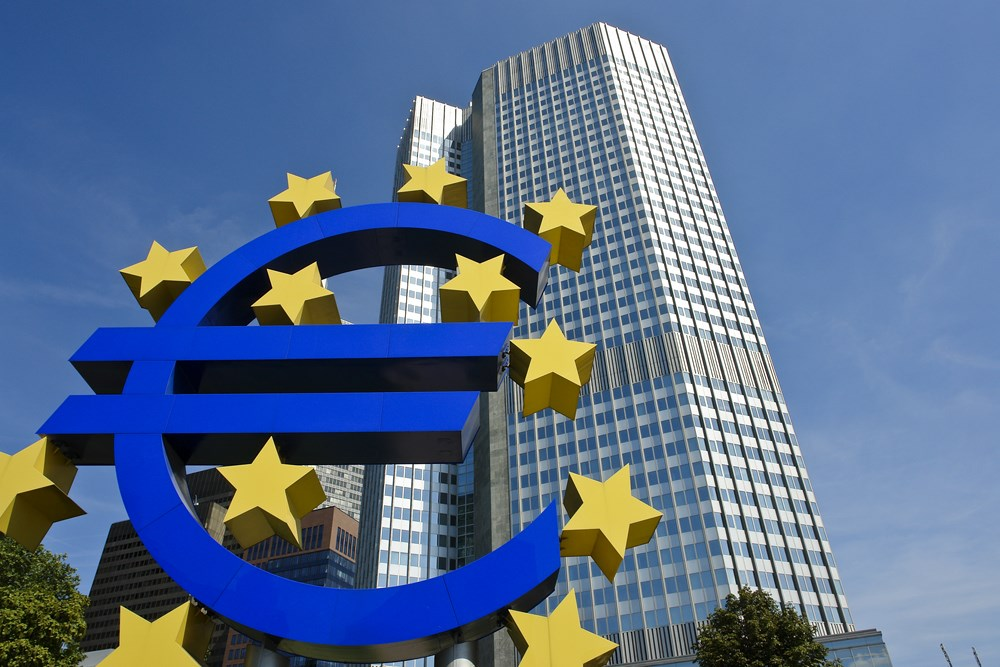 European Central Bank slider