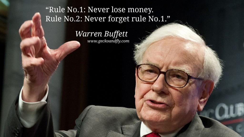 Nigdy nie trać pieniędzy!
