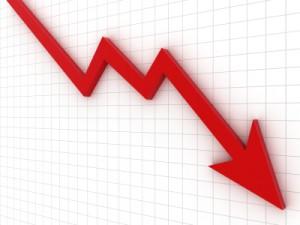 Ogólna tendencja wśród brokerów nadal spadkowa.