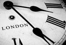 London Clock face slider