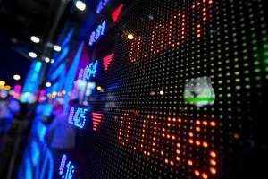 stock market slider