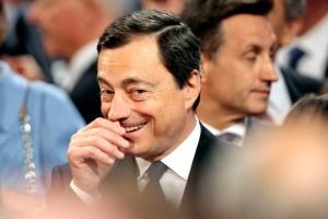 Prezes EBC,. Mario Draghi