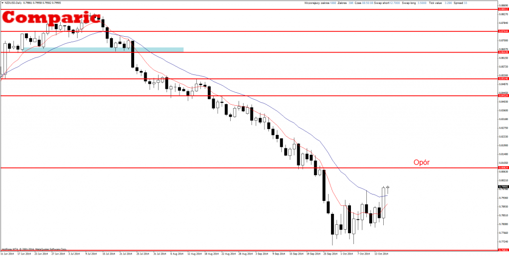 Price Action Forex NZD/USD