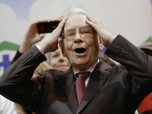 Nasz redakcyjny kolega wylicza ile zarabiać może Pan Buffett