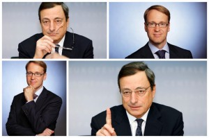 """Konflikt na linii Wedimann-Draghi narasta. Zdaniem prezesa ECB prezydent Bundesbanku jest człowiekiem """"wszystko na nie"""""""