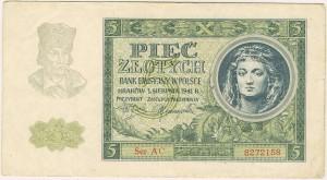 """Pięć złotych - niemieckie złotówki powszechnie nazywane były """"młynarkami"""". Od nazwiska ówczesnego prezesa banku emisyjnego"""