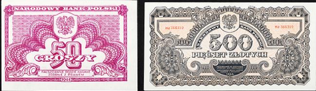 Powojenna złotówka projektu radzieckich grafików
