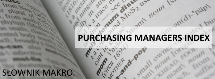słownik makro PMI