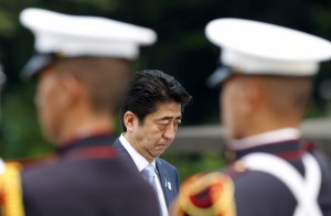 Shinzo Abe, premier Japonii