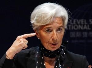 Christine Lagarde nie zwykła rzucać słów na wiatr