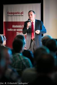 Jack Schwager podczas otwartych wykładów