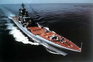 Na zdjęciu krążownik Kirov. Okręt tej klasy był przedmiotem największej umowy jaką zawarł Związek Radziecki z obcym przedsiębiorstwem.