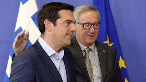 Po nocnym spotkaniu Tsiprasa i Junckera Europa wciąż czeka na ugodę pomiędzy Grecją a resztą Strefy Euro. | źródło: www.marketwatch.com