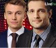 Łukasz Zembik i Tomasz Wiśniewski z Investment University