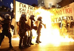 Greckie zamieszki