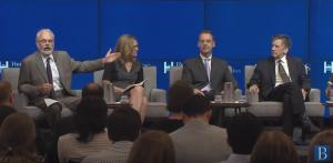 Część specjalistów obecnych na panelu zorganizowanym przez Brookings Institution byłą niegdyś członkami Rezerwy Federalnej.