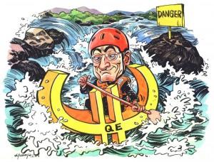 Mario Draghi wypływa na wzburzone morze QE2?