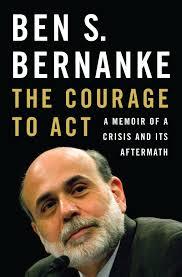 Okładka najnowszej książki Bernanke. Prawdopodobnie, jedna z ciekawszych pozycji książkowych mijającego roku. Jak na razie niedostępna w Polsce.