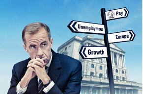 Mark Carney - prezes BoE - ma wiele problemów do rozważenia