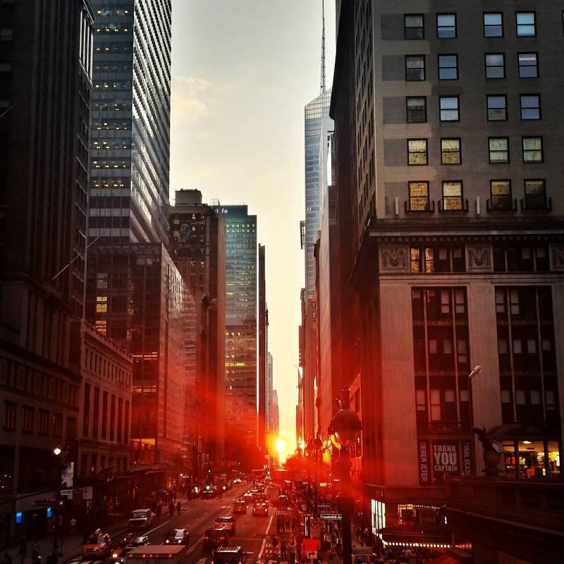 Manhattan w Nowym Jorku   New York
