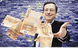 Mario Draghi dzięki swoim komentarzom o inflacji skutecznie osłabił EUR