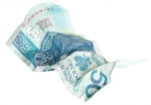 Kurs złotego (PLN) oddaje pola. Kurs dolara wzrośnie do 3,85 zł