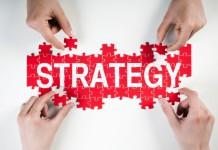 Puzle z napisem Strategy