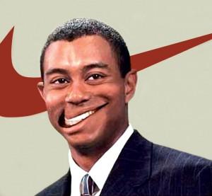 Tiger Woods w jednej z kampanii marketingowych Nike