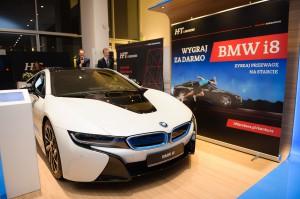 """BMW i8, które HFT Brokers oferowało w konkursie """"Przewaga na starcie"""""""