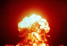 grzyb atomowy po wybuchu bomby