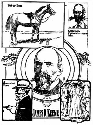 Grafika z gazety Princeton Union, wydanie z rokuj 1907