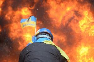 Ukraine-on-fire