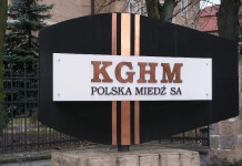 Akcje KGHM