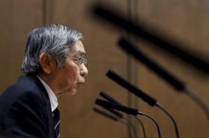 kuroda z banku japonii boj