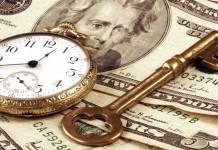 Klucz zegarek dolary