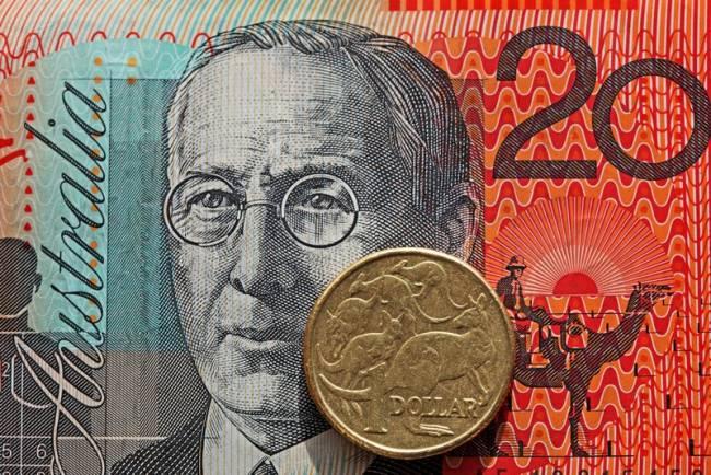 Kurs dolara australijskiego AUDUSD odrabia straty. Sprzedaż detaliczna w Australii skurczyła się o 0,3%