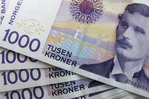 Kurs korony norweskiej
