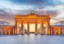 brama branderburska berlin niemcy