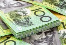 plik dolarów australijskich