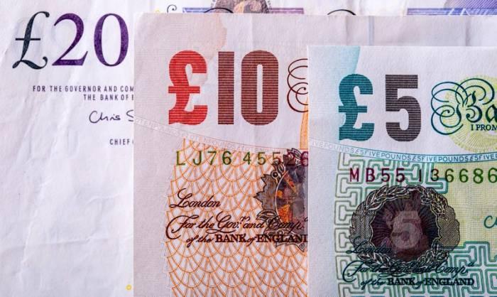 Kursy walut. Silnie rośnie funt, kosztowałdziś ponad 5,17 zł. Odreagowanie spadków kursu dolara, euro i franka, 10 grudnia