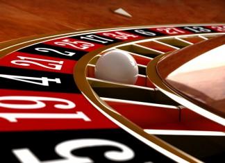 Koło ruletki w kasynie